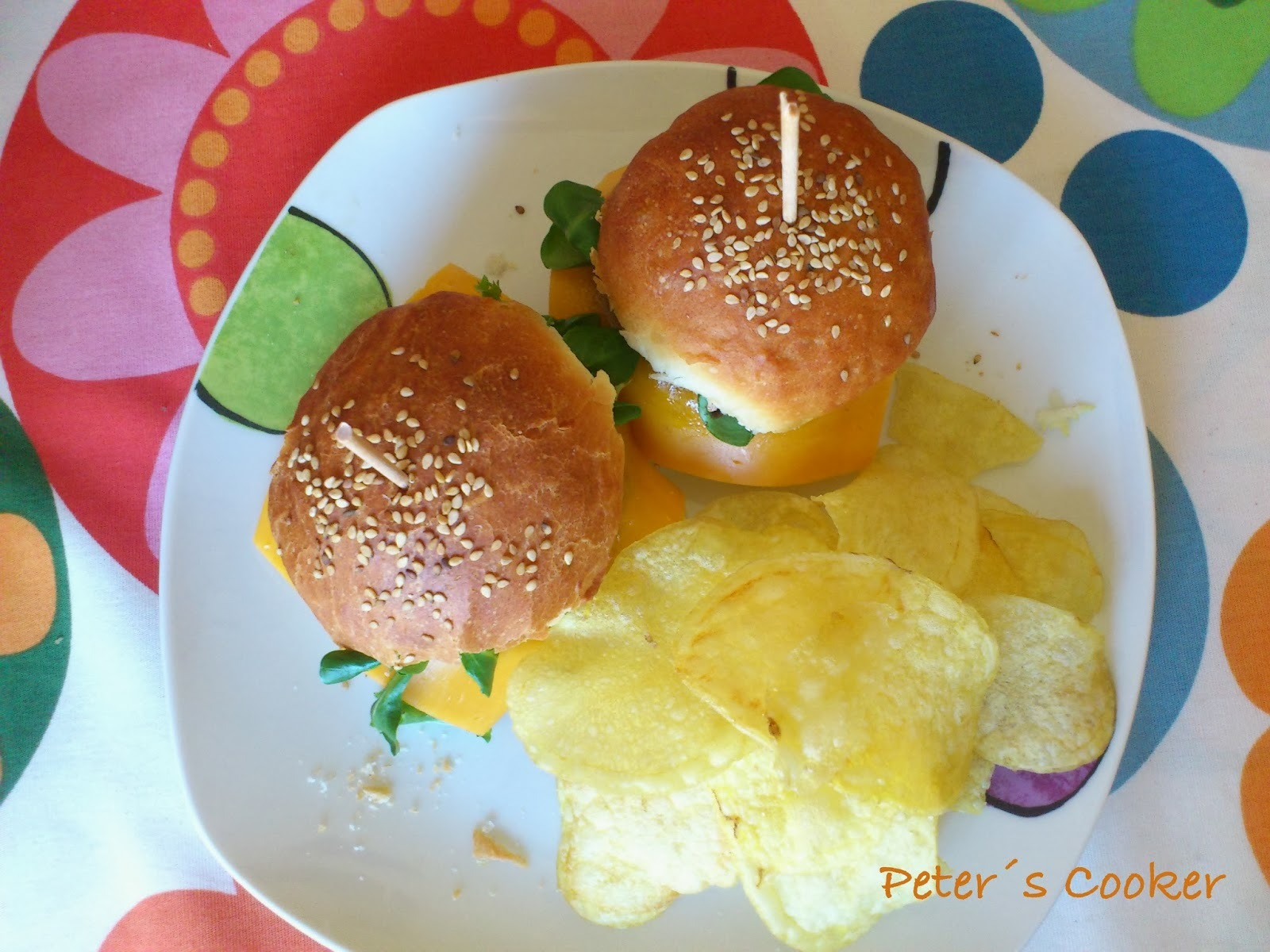 Mini Hamburguesas Caseras