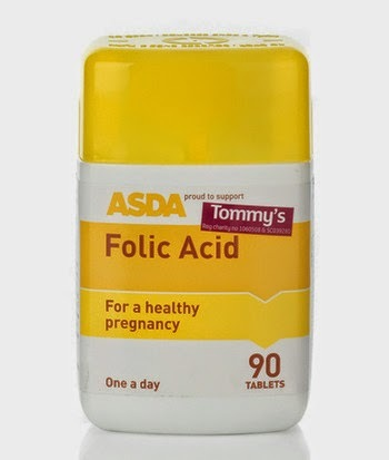 ASDA offer free folic acid & advice on morning sickness
