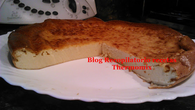 Tarta de queso mascarpone thermomix