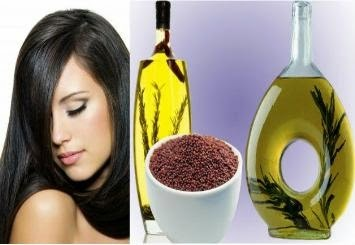 Home made henna mustard oil for hair growth, hair fall, damaged hair, scalp infection, etc.