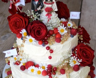 Happy Birthday! (Zweistöckige Limoncello-Torte)