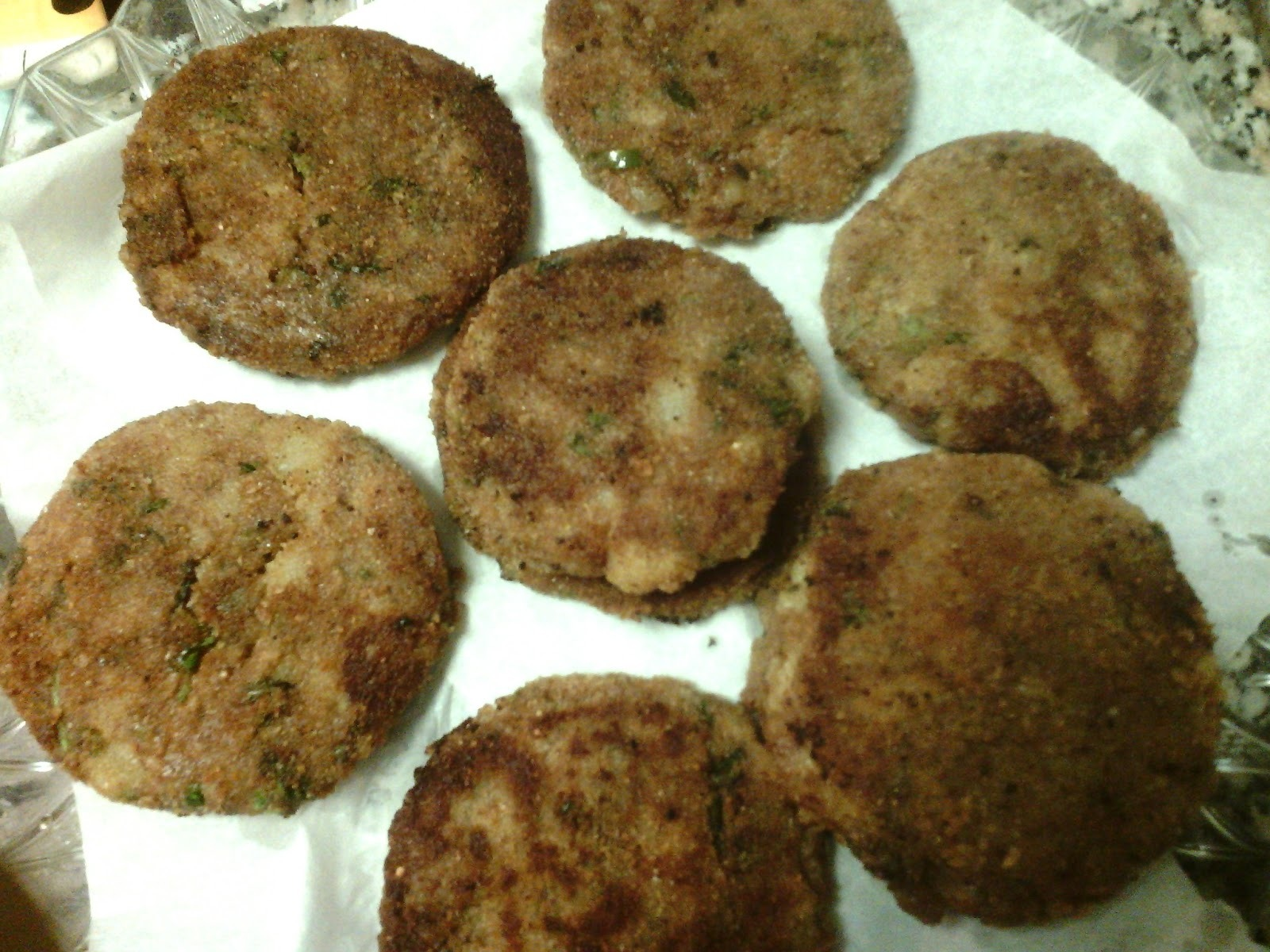 Potato Cutlets (Aalu Tikki)