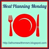 Meal Planning Monday 2015 - Week 1