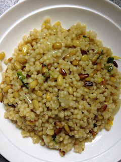 Dynamite Israeli Pine Nut Couscous with Fresh Herbs