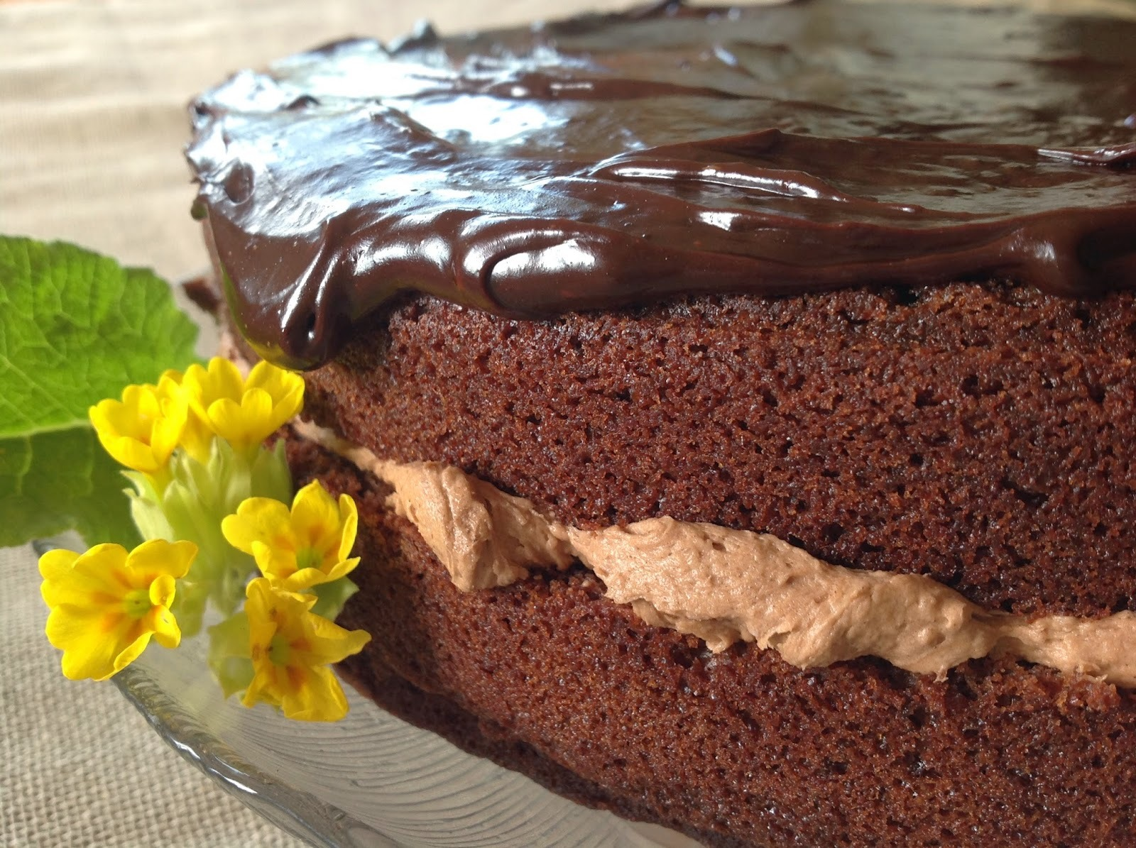 Chocolate Cake - Country Living Recipe