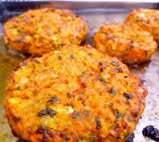 nigel slater's carrot and coriander fritters