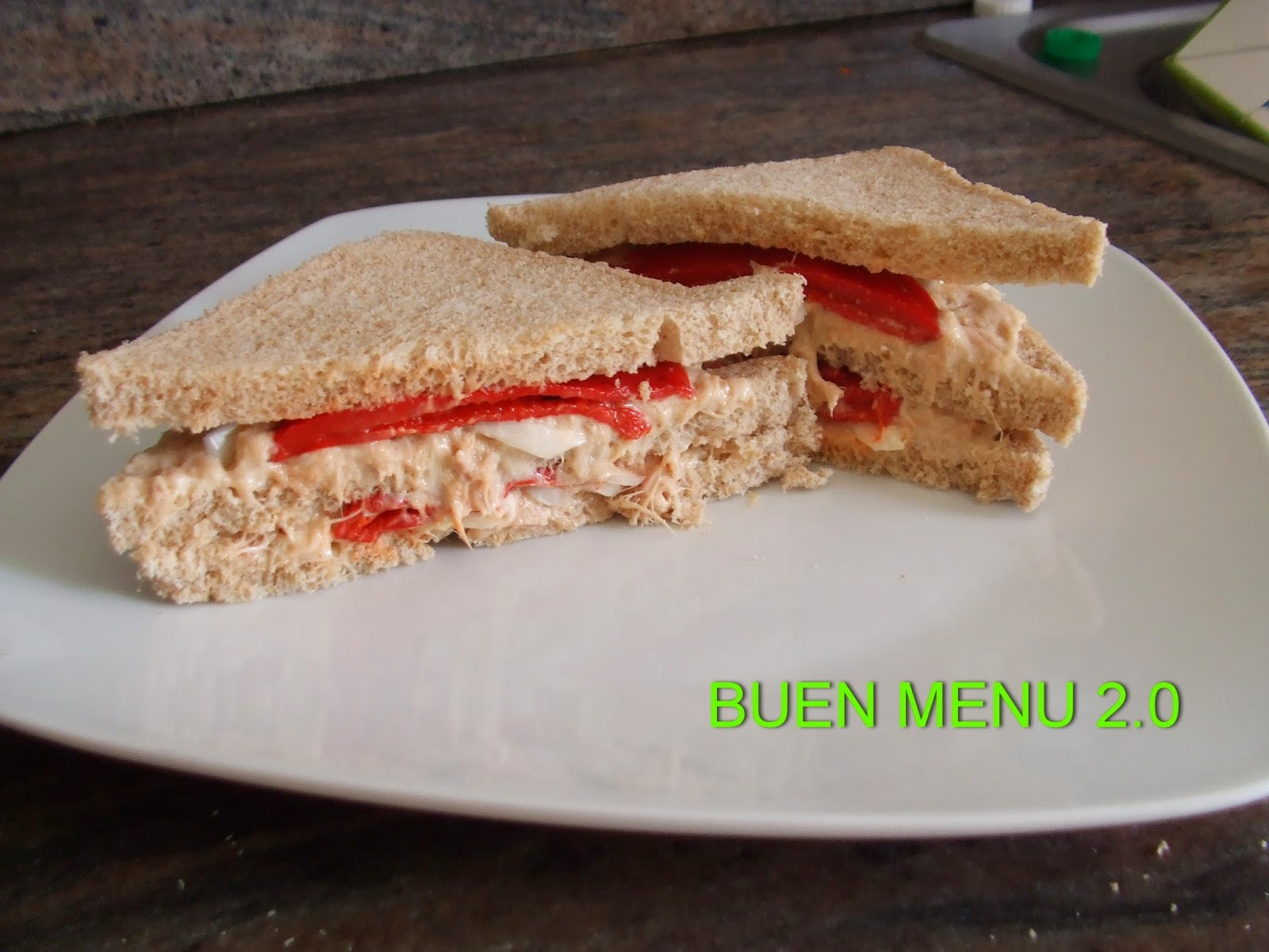 "Sandwich ""Tuna delight"""