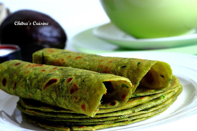 Avocado Parathas