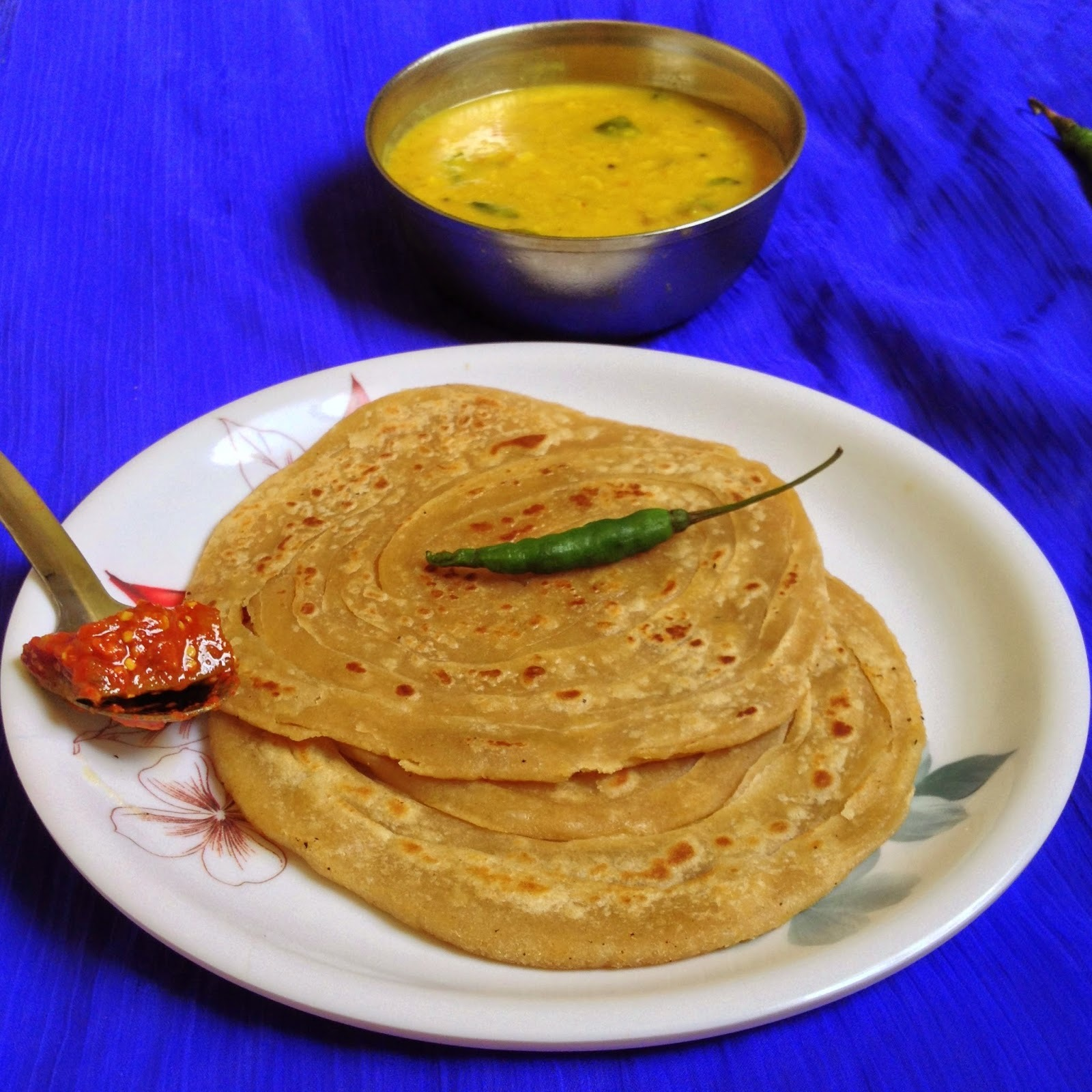Lachha paratha ,how to make lachha paratha,lacha paratha using wheat flour or atta
