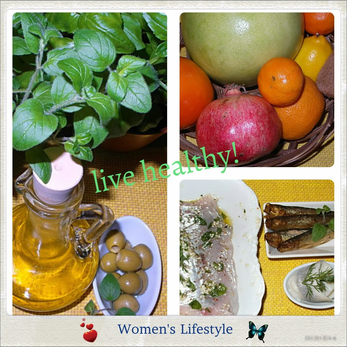 Women's Lifestyle - Eat healthy!