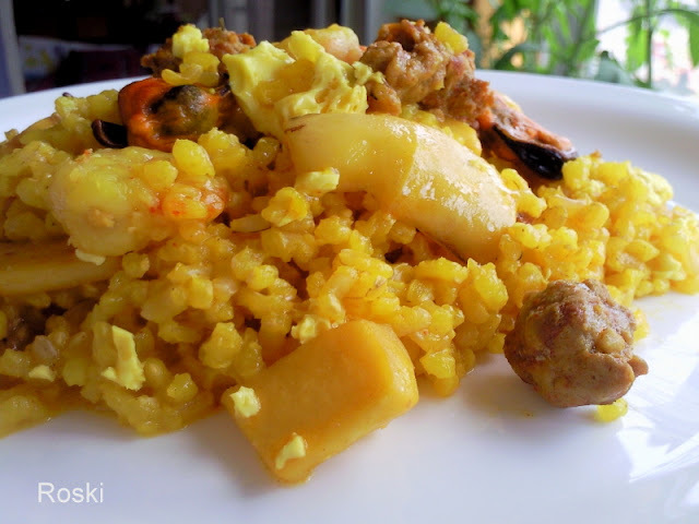 Arroz Marinero y Chorizo en Fussion Cook