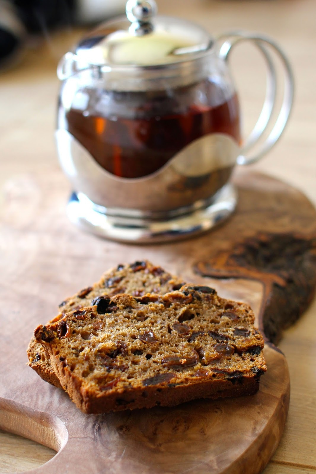 fruit and fibre loaf cake