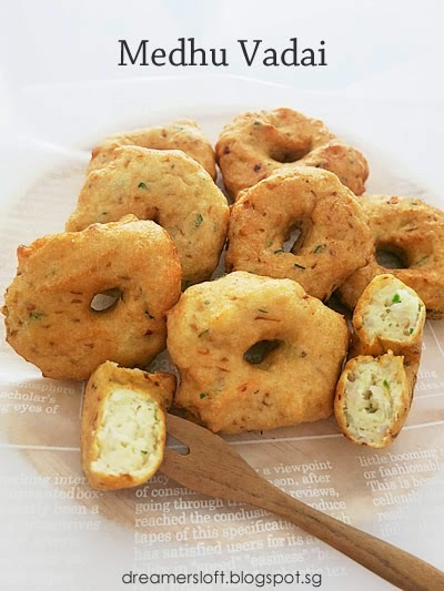 Medhu Vadai and Coconut Chutney - AFF Indian Subcontinent May 2014