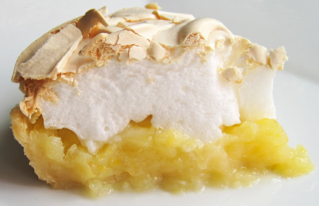 Favourite British Pie - Lemon Meringue