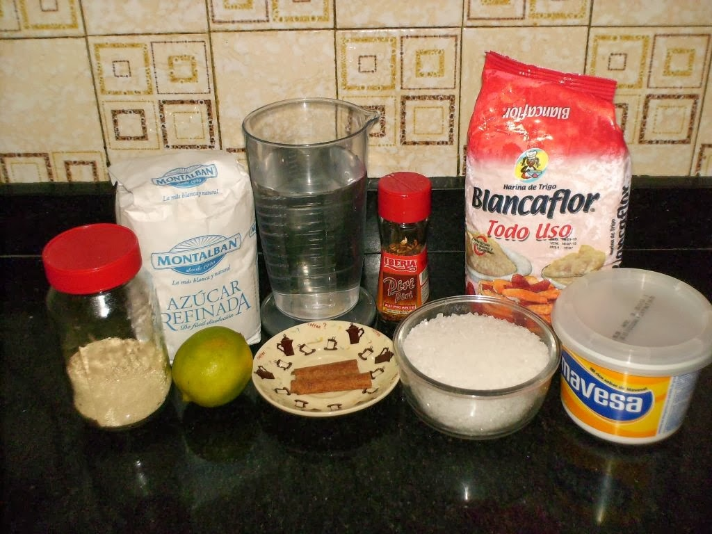 ingredientes de harina pan