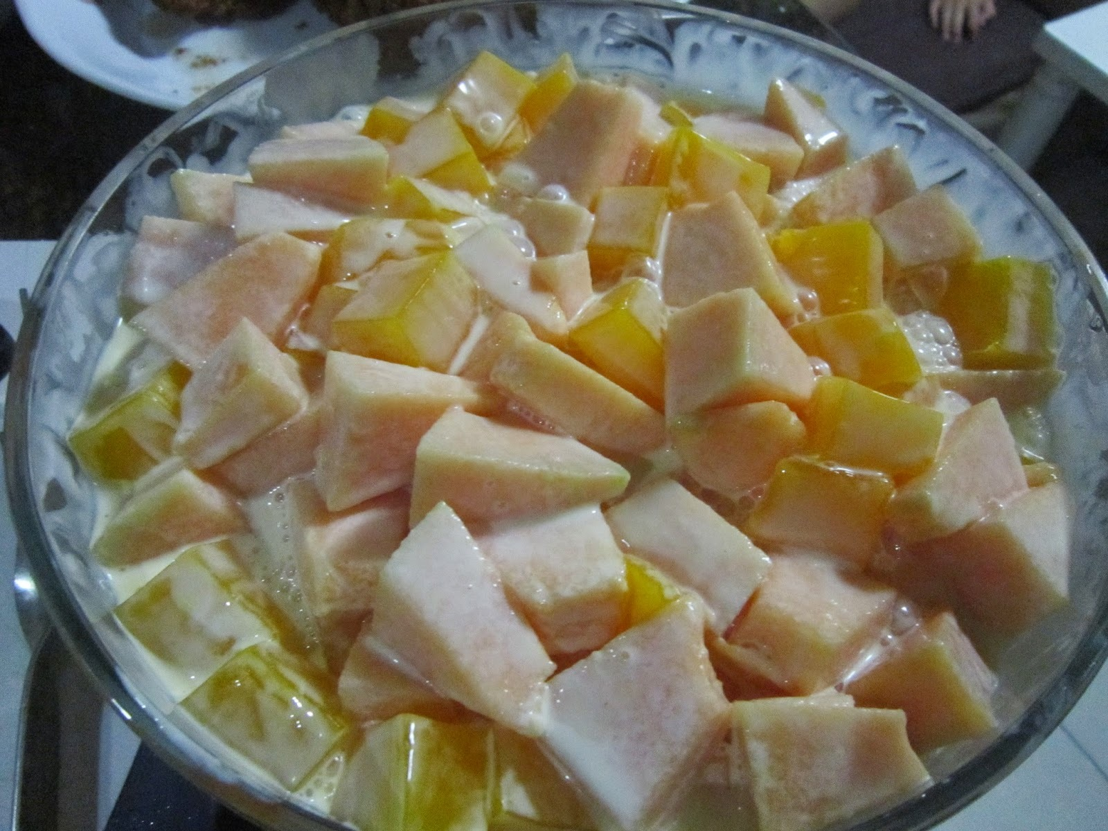 MELON and MANGO JELLY SALAD