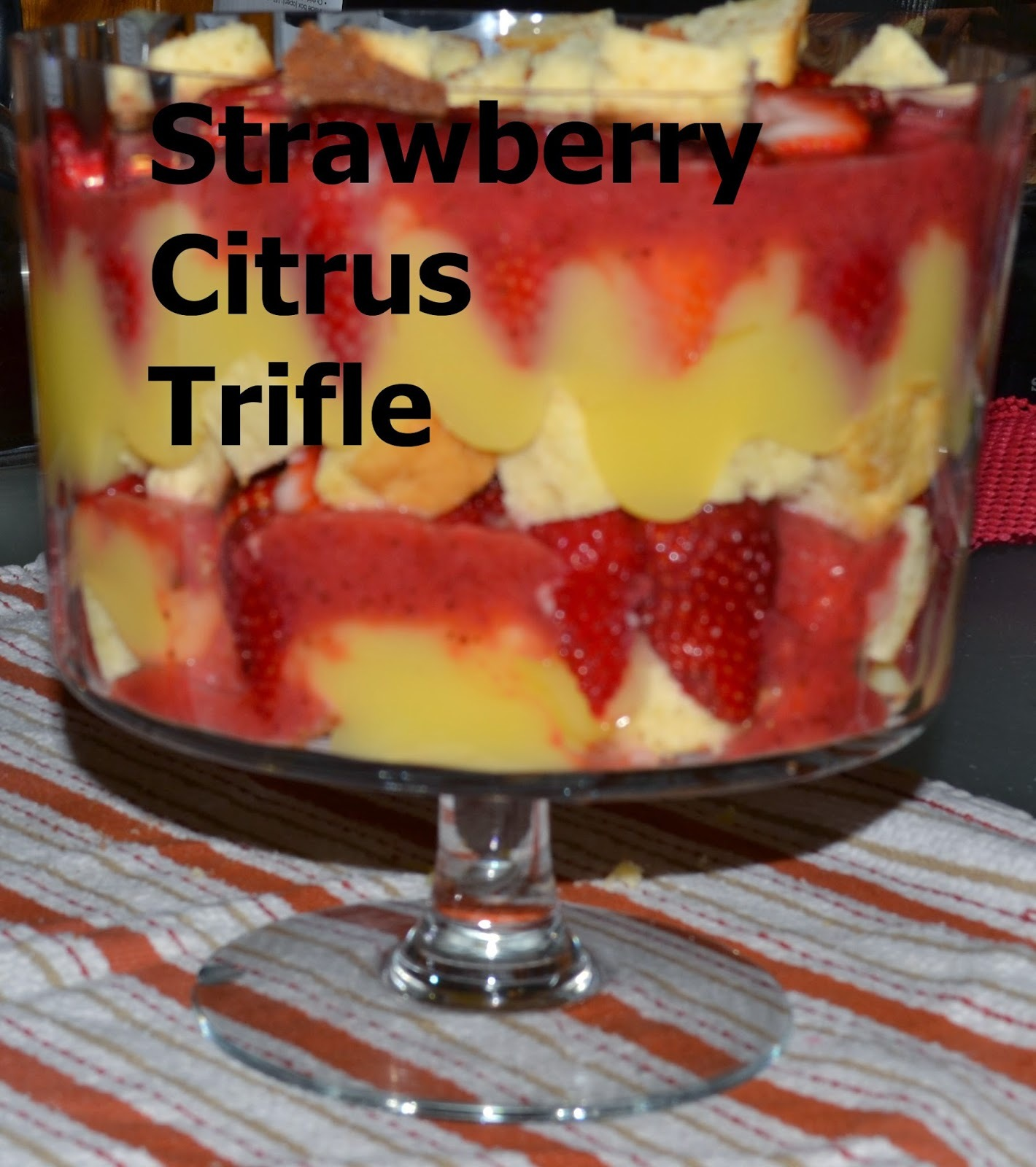 Strawberry Citrus Trifle