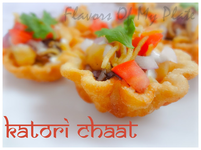 Katori Chaat.......A Bowlful of Flavors
