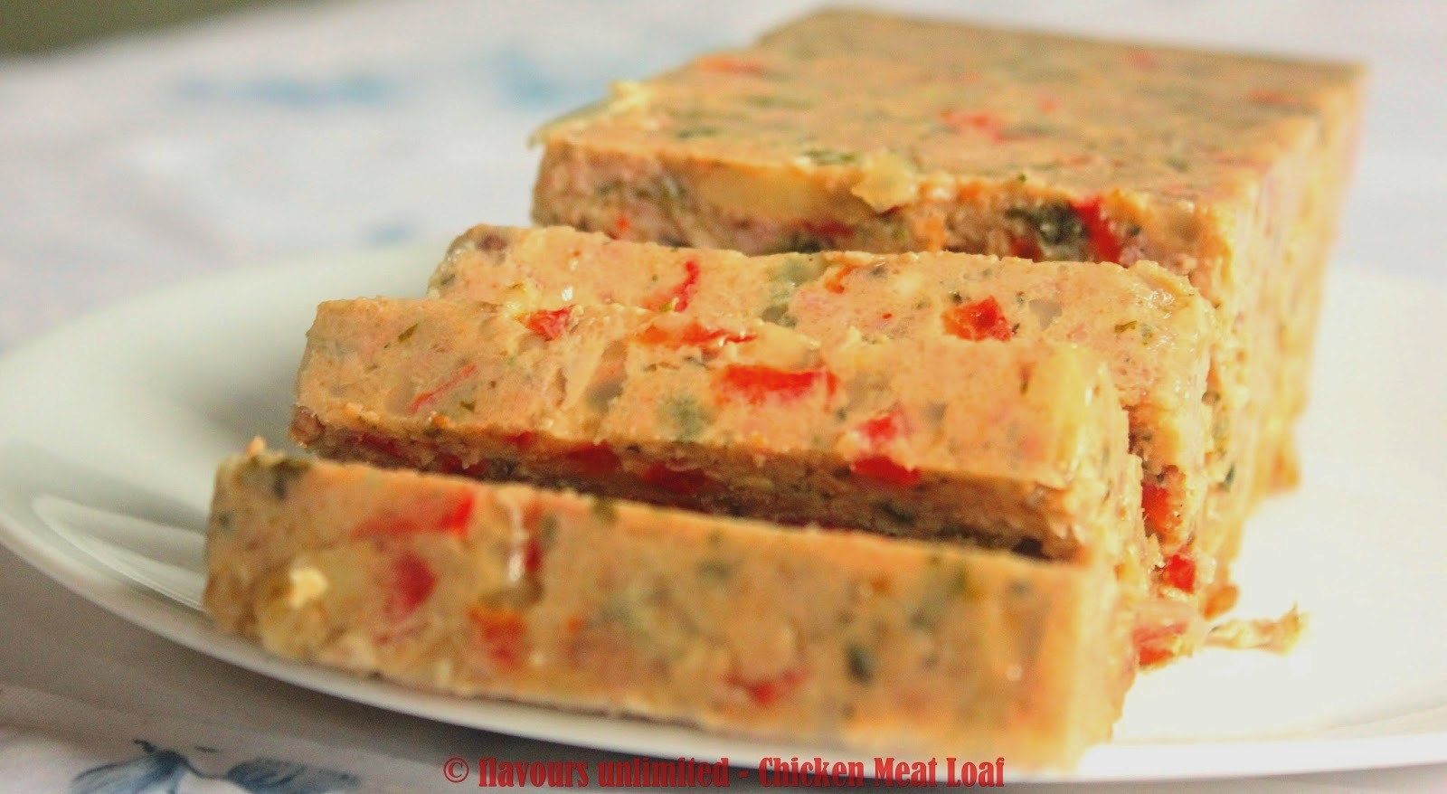 Zesty and Easy Chicken Meat Loaf