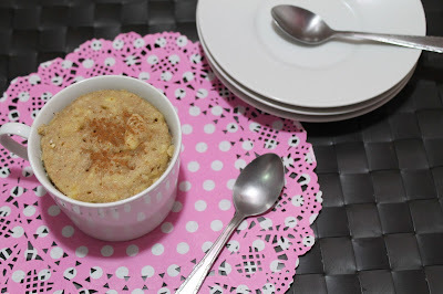 Mug Cake de plátano light