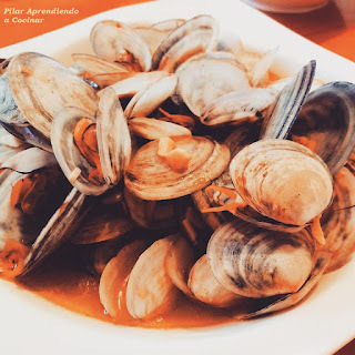 CLAMS COOKED IN SMOKED SPICY PAPRIKA SAUCE #OlmedaOrigenes