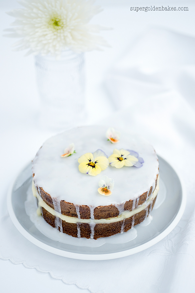 Easter Simnel Cake with Marzipan Pastry Cream