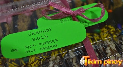 Order Now! Graham Balls for Only P130