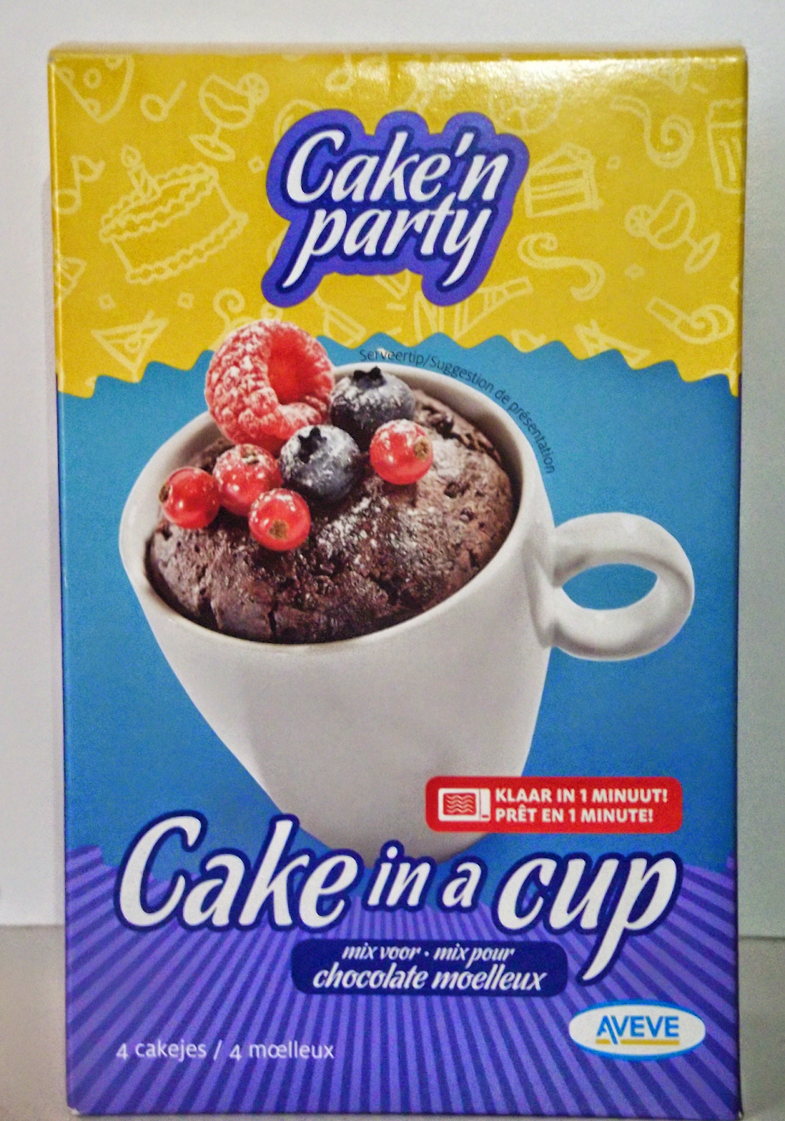 Review: Cake 'n Party - Cake in a cup