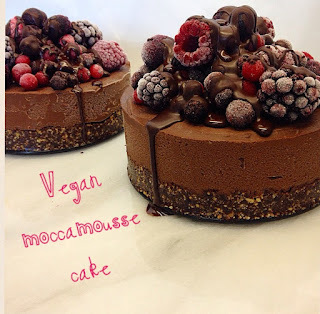 Vegan Moccamousse Cheesecake