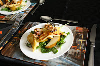 Celebrate summer with Annabel's Pear, Walnut and Haloumi Salad
