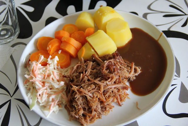 Pulled pork (Mor, fars og søns version)