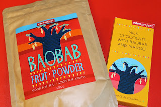 Baobab Super-Fruit Powder - A review plus WIN a family ticket to the Eden Project