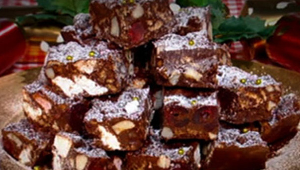 Christmas Leftover Rocky Road Recipe!!