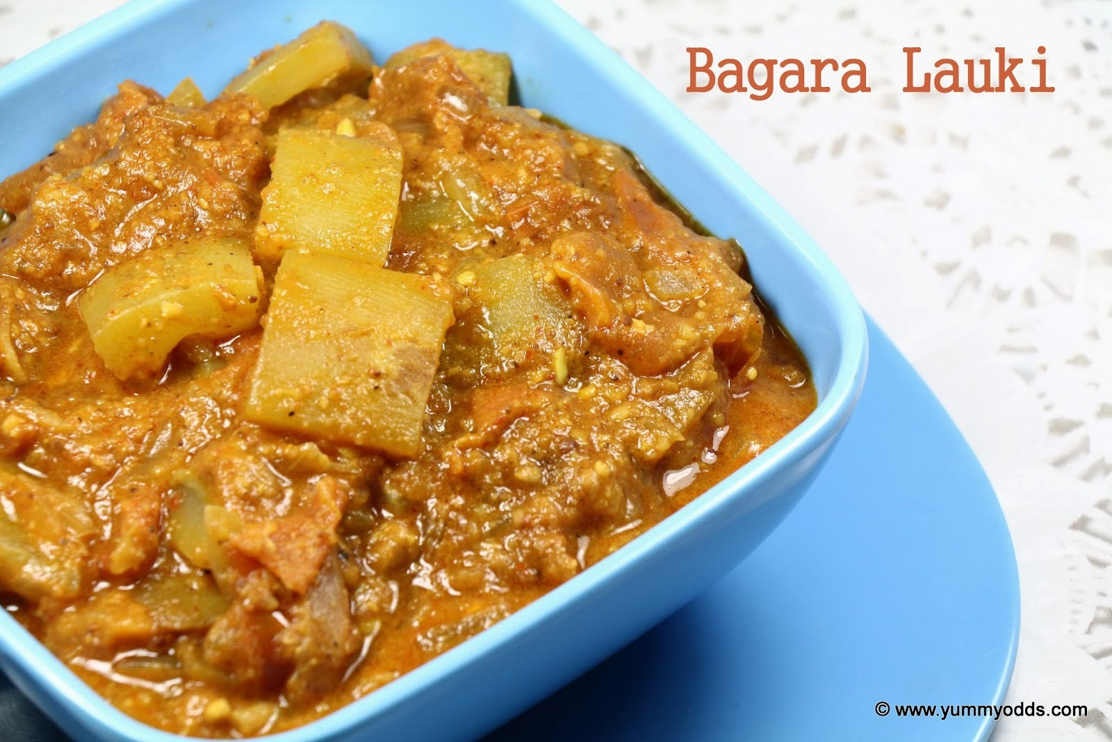 Bagara Lauki ( Bottle Gourd Masala Curry)