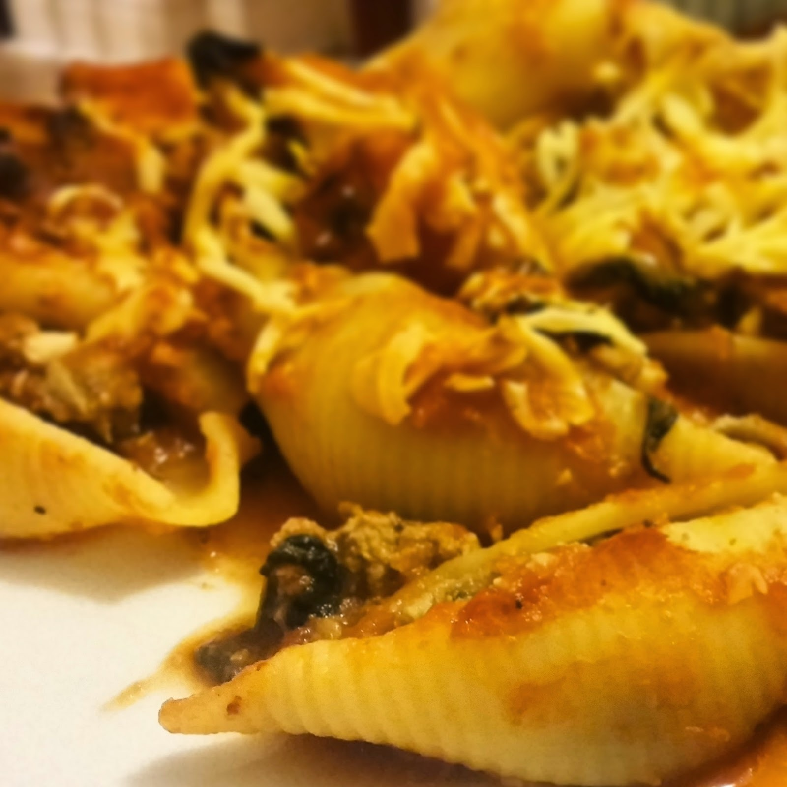 Recipe: Giant Stuffed Pasta Shells