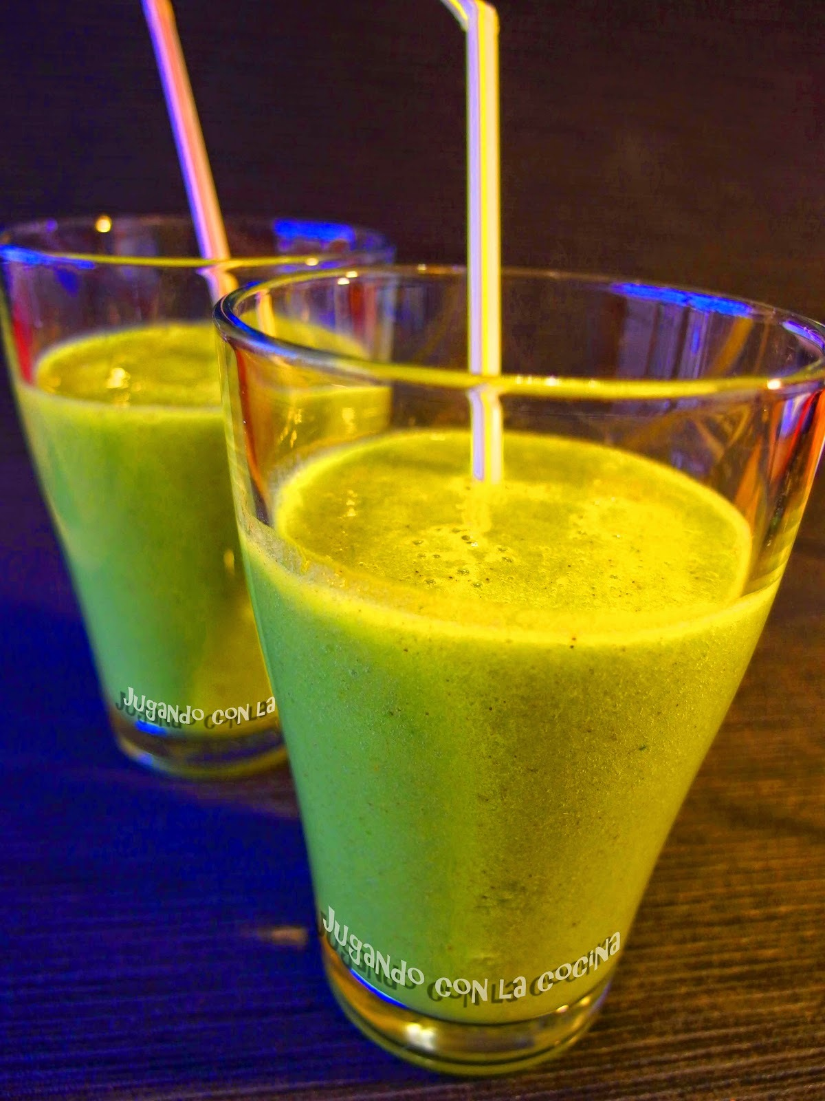 Batido verde Detox - Green Smoothie