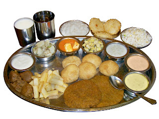 Did you know that there is also a Vrat thali???