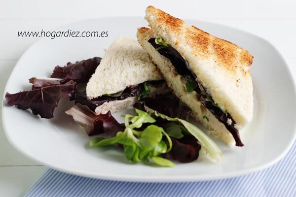Sandwich express de pollo