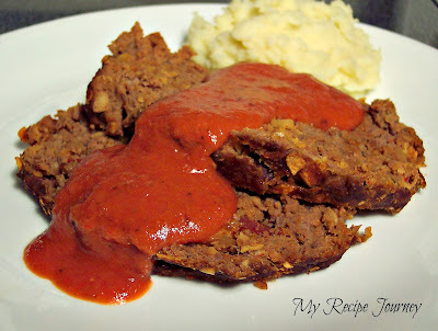 mexican meatloaf with tortilla chips