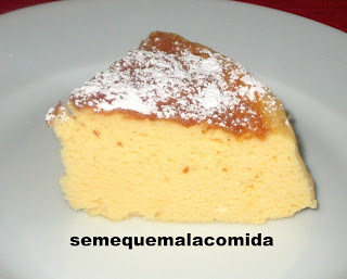TARTA DE QUESO JAPONESA (3 INGREDIENTES)