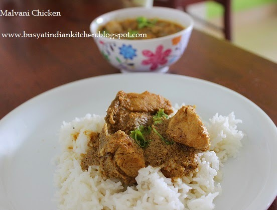 Malvani Chicken (Konkani Style Chicken)