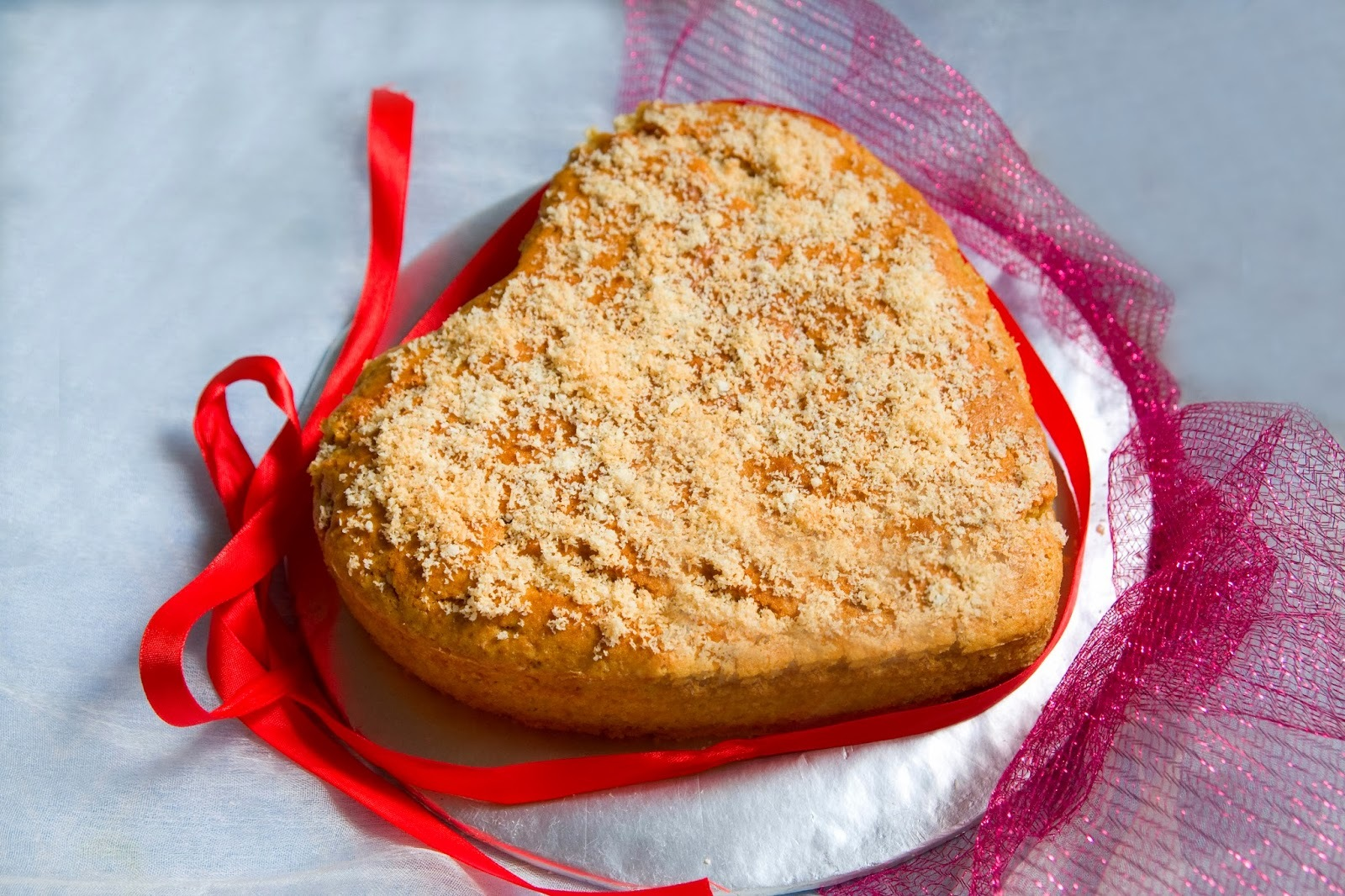 Coconut Whole Wheat Jaggery Cake (Egg less)