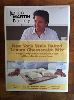 product review: new york style baked lemon cheesecake mix by james martin bakery