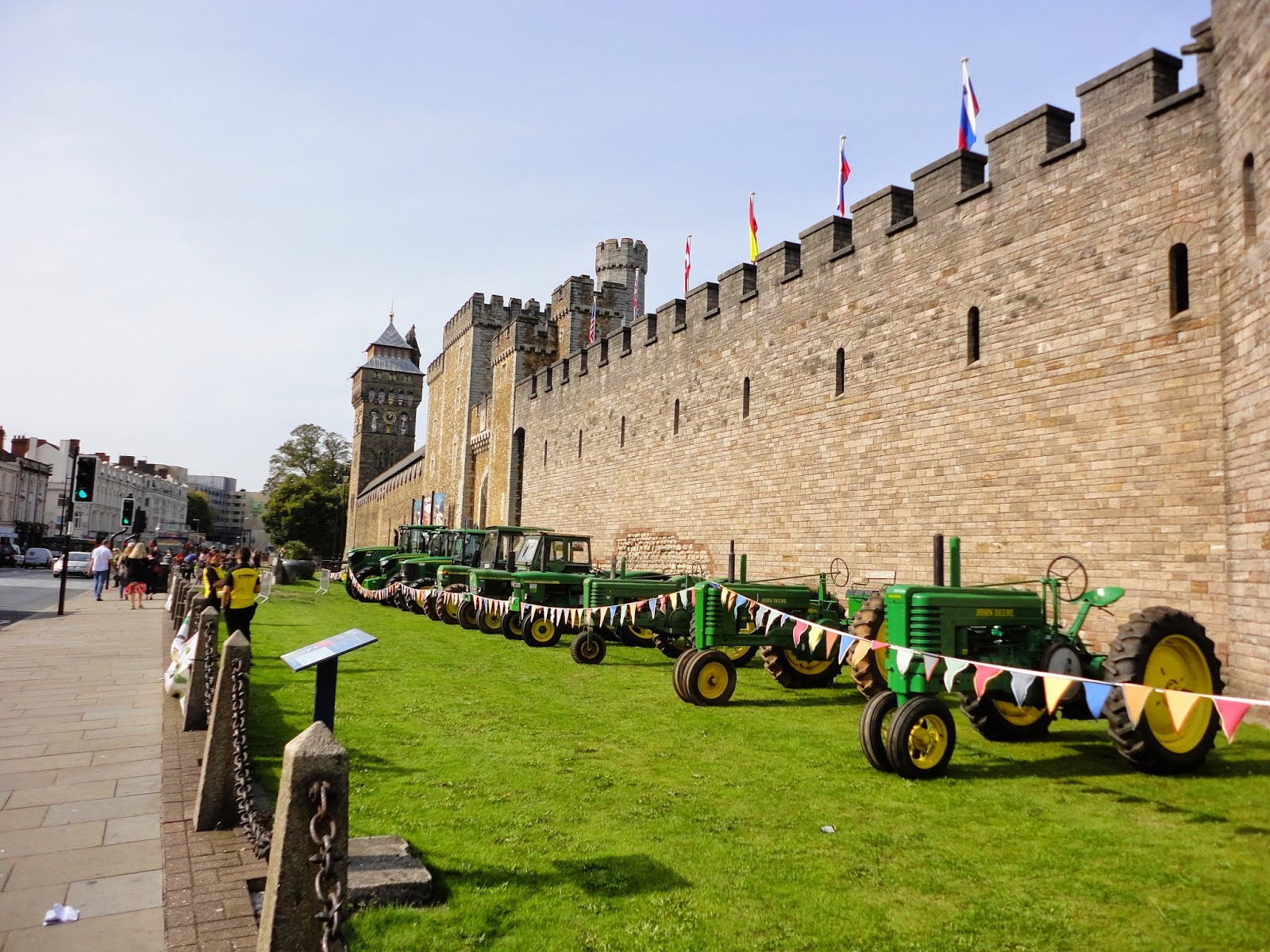 A day out at the Cardiff Country Fair in Cardiff Castle, 28-29 September 2014