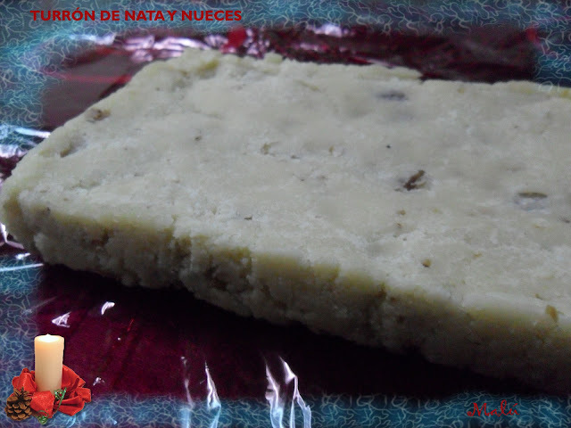TURRON DE CHOCOLATE Y GALLETA MARIA