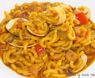 Recetas de como hacer una sopa de fideos con calamares y - Como hacer garbanzos guisados ...