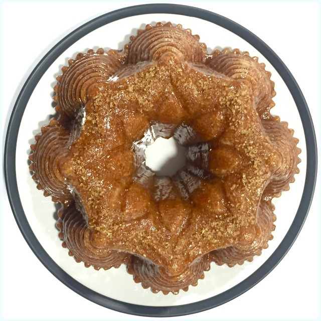 Spiced Apple and Quince Bundt Cake