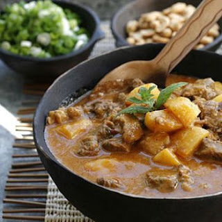African beef curry. ♥