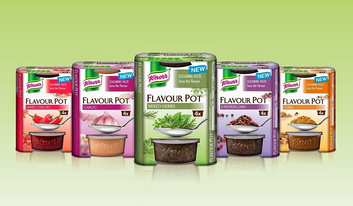 Discover the Flavours of Knorr Flavour Pots & Enter the Competition to win a Hamper