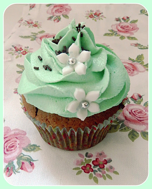 After eight cupcakes / cupcakes de chocolate y menta